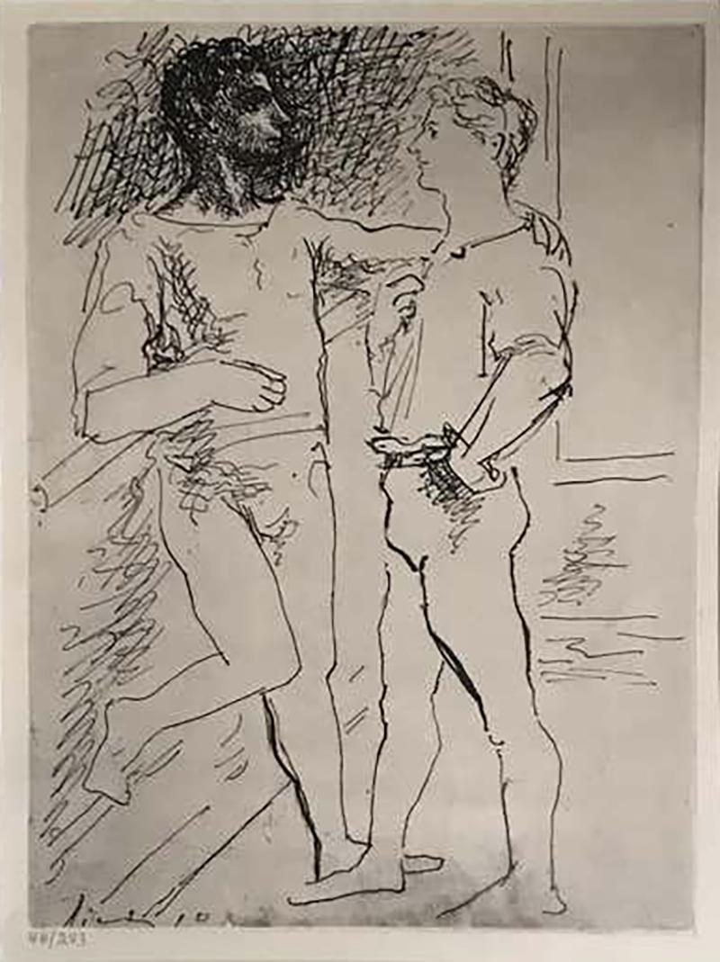 Pablo Picasso Pablo Picasso Etching 2