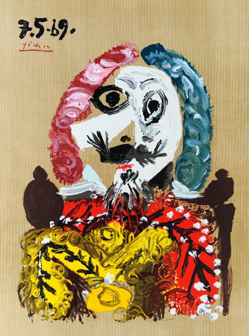 Pablo Picasso Portrait Imaginaire 7 5 69