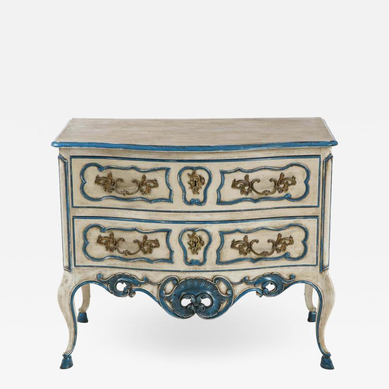 Painted Provencal Commode