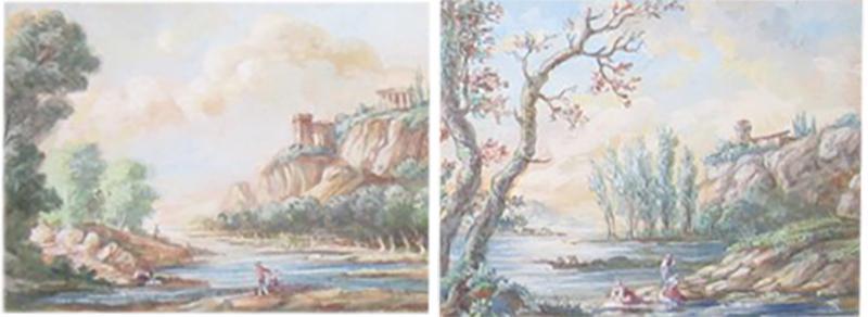 Pair Landscape Scenes