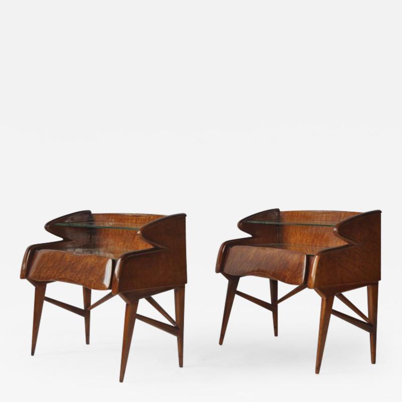 Pair of 1950s Italian Nightstands