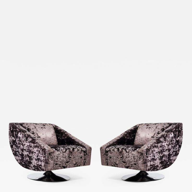 Pair of 1970s Chairs Used in a Famous Movie