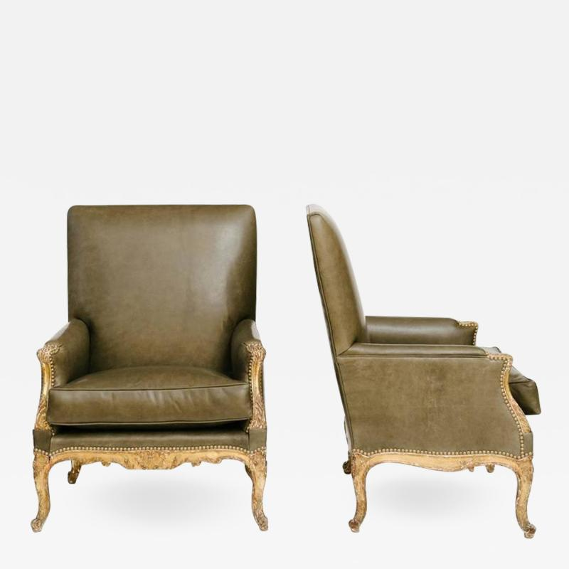 Pair of 19th Century French Louis XV Style Berg res