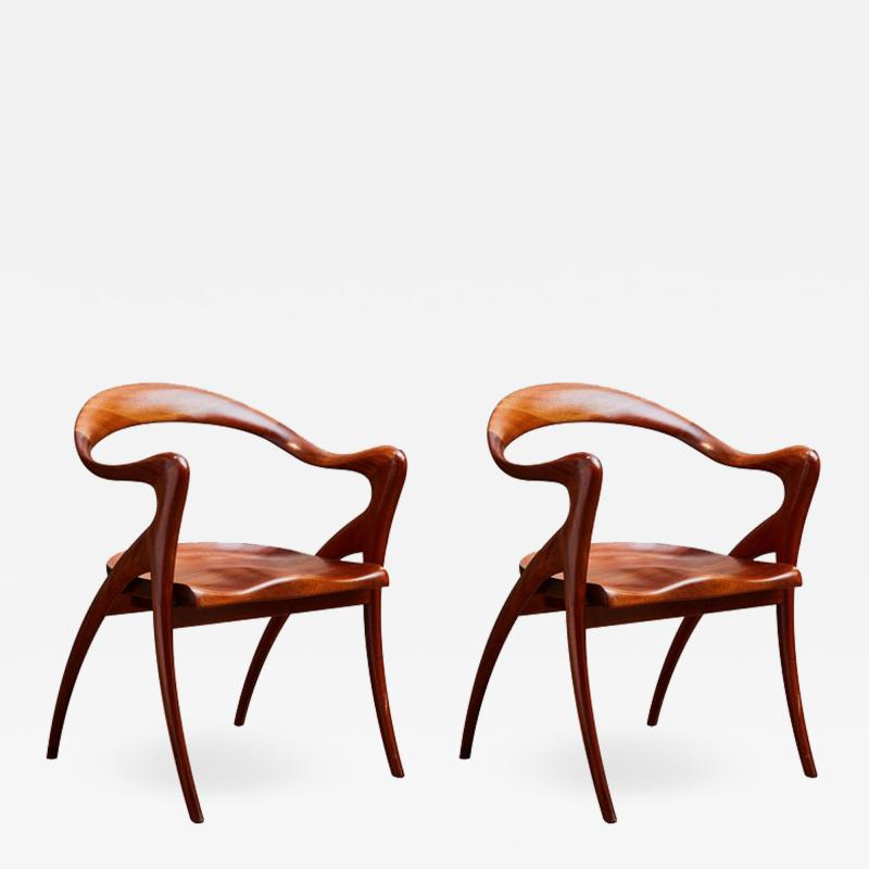 Pair of American Armchairs