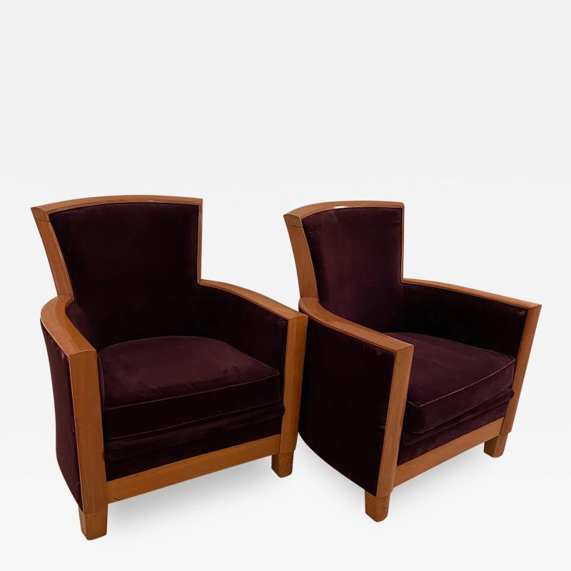 Pair of Armchairs by Rosello Paris