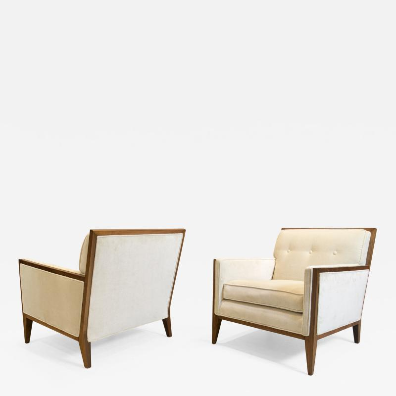 Pair of Art Deco Style Lounge Chairs 1970s