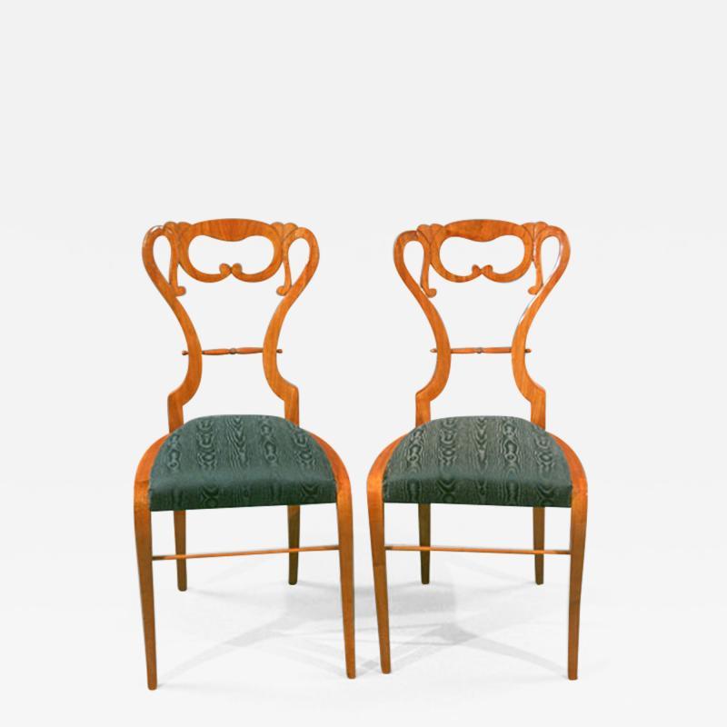 Pair of Biedermeier Lady s Side Chairs