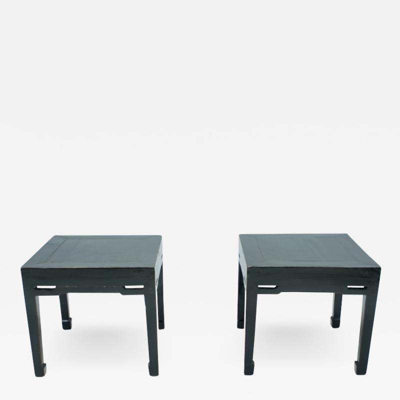 Pair of Chinese Antique Side Tables