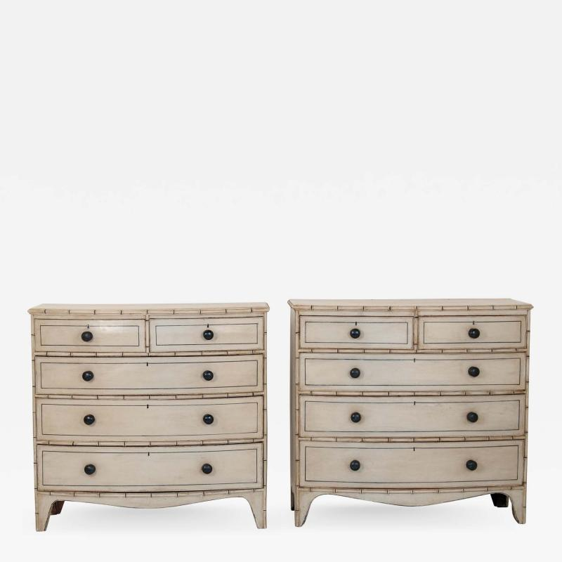 Pair of Chinoiserie Chests of Drawers
