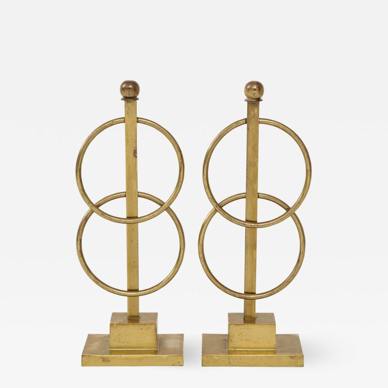 Pair of Decorative Andirons Fireplace accessories