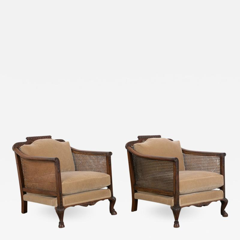 Pair of French 19th Century Louis XIV Style Armchairs