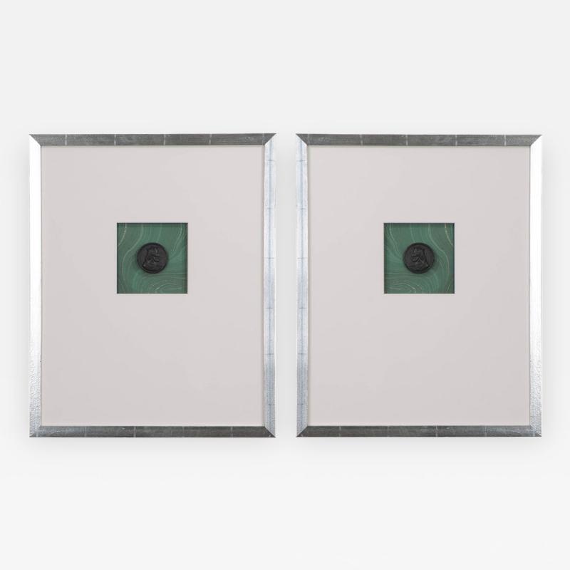 Pair of Hatcher New Orleans Framed Intaglios