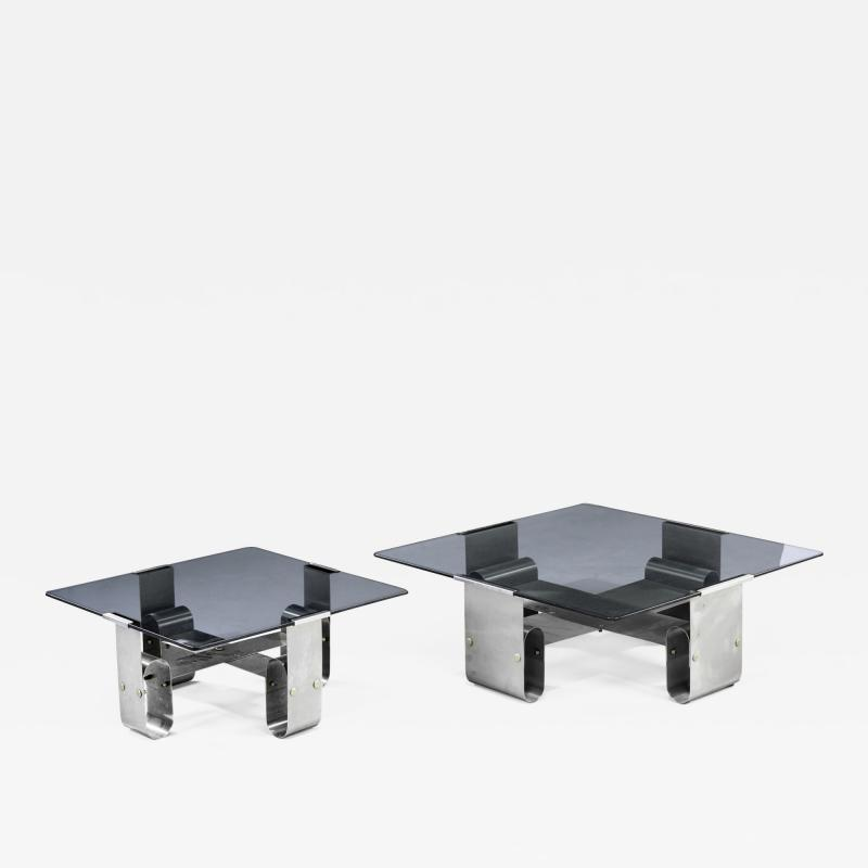 Pair of Italian Side Tables 1970s
