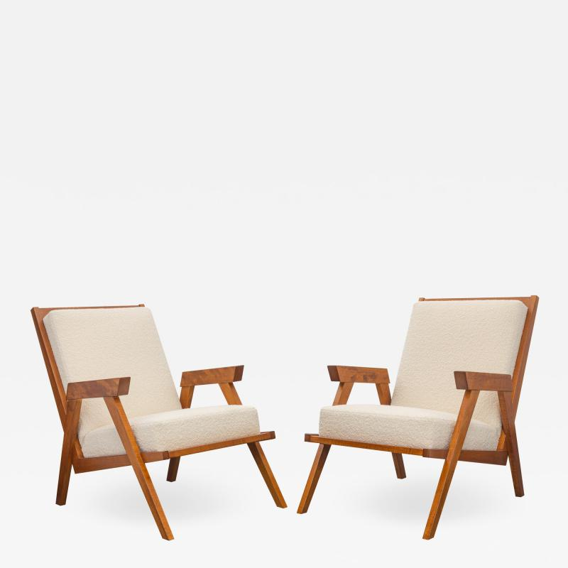 Pair of Mid Century Modern Club Chairs