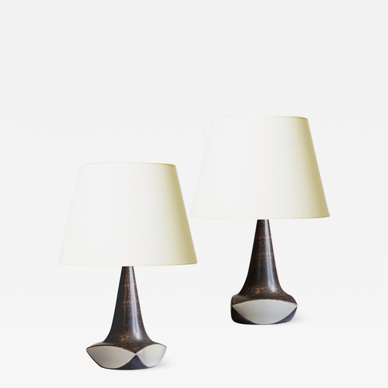 Pair of Mod table lamps by Marianne Starck for Michael Andersen