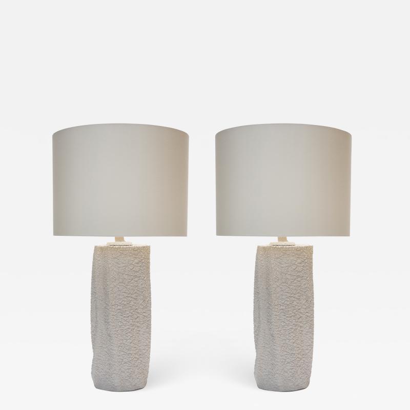 Pair of Modern Ceramic Table Lamps