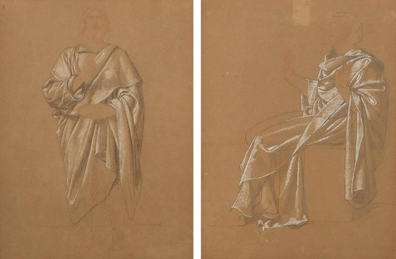 Pair of Neo Classic Drawings