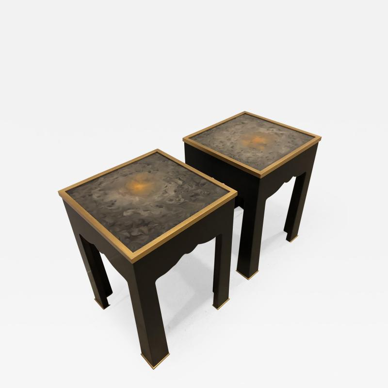Pair of Salon side tables