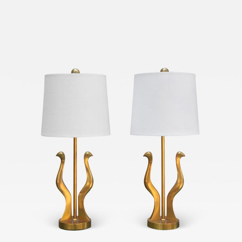 Pair of Small Riccardo Scarpa Table Lamps