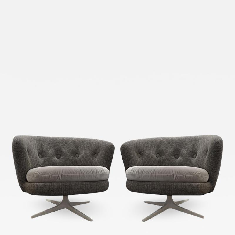 Pair of Swivel Chairs