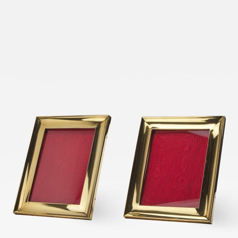 Pair of Vermeil Frames