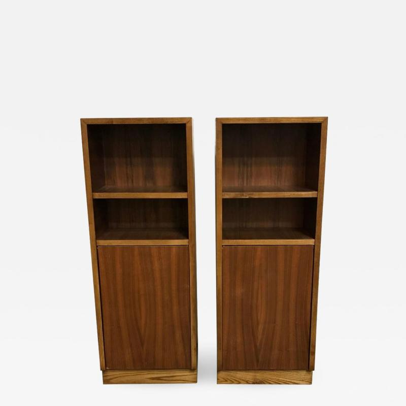 Pair of Walnut Side tables Nightstands