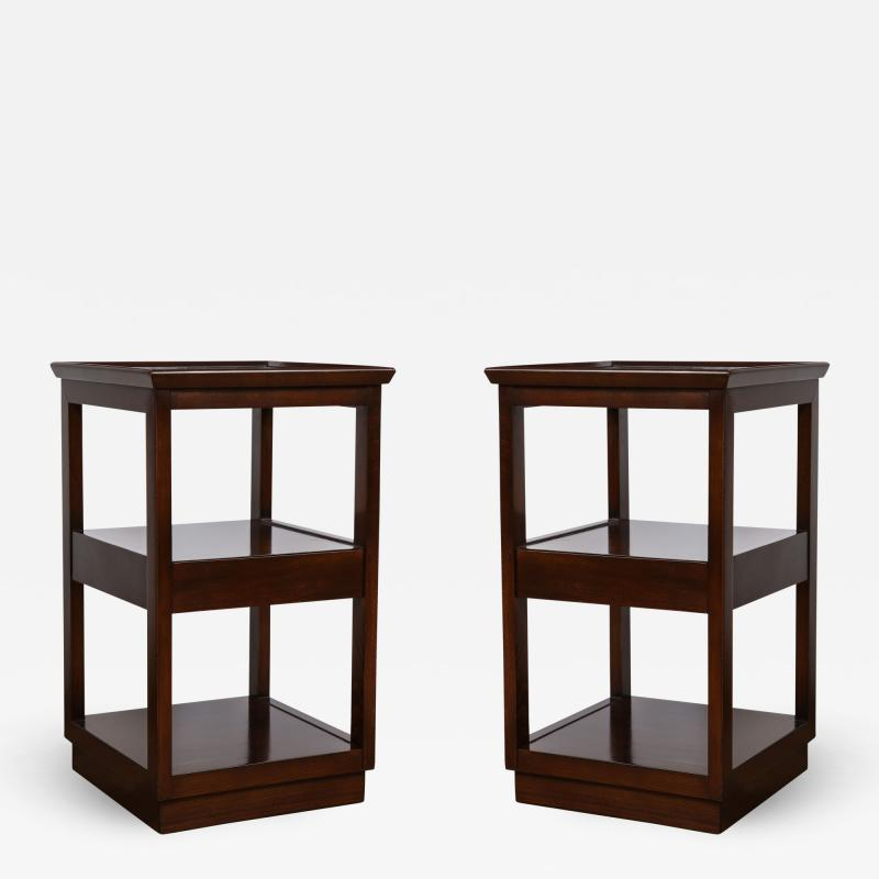 Pair of Wormley End Tables