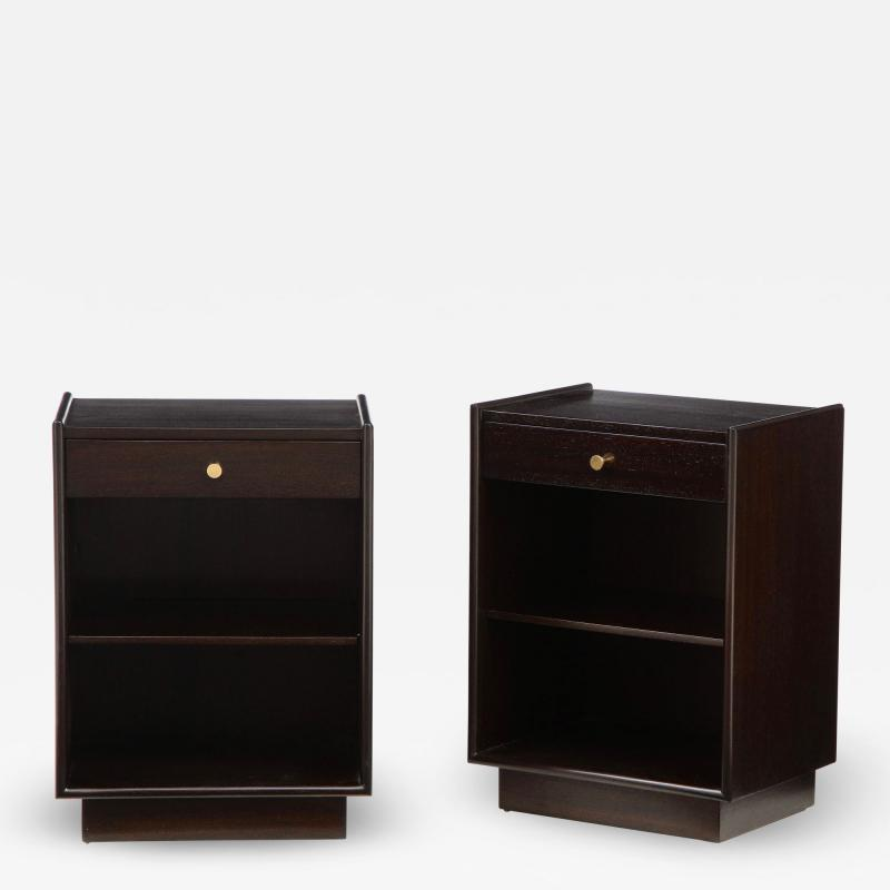 Pair of side cabinets by Harvey Probber