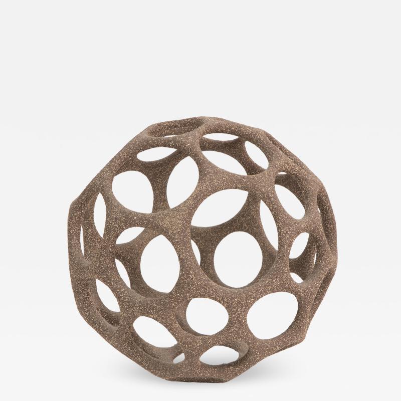 Pamela Sunday Pamela Sunday Hand Built Stoneware Cellular Sphere