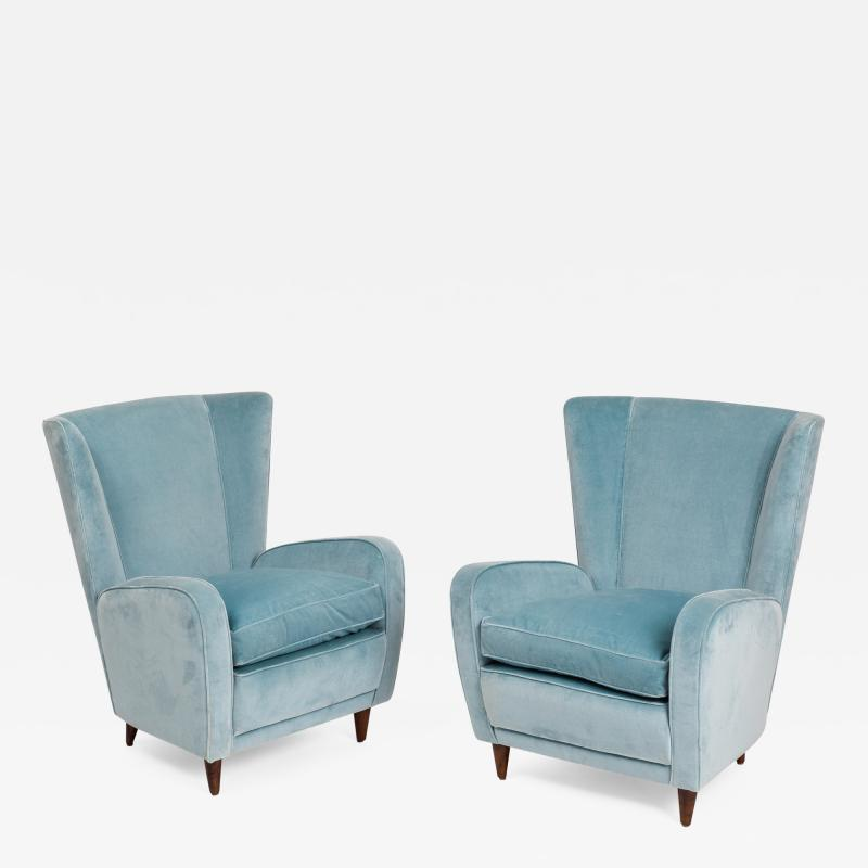 Paolo Buffa Pair of Armchairs from Hotel Bristol