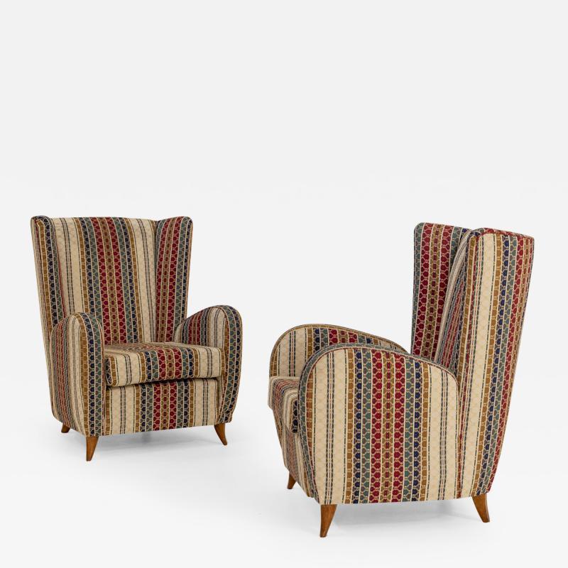 Paolo Buffa Pair of armchairs by Paolo Buffa