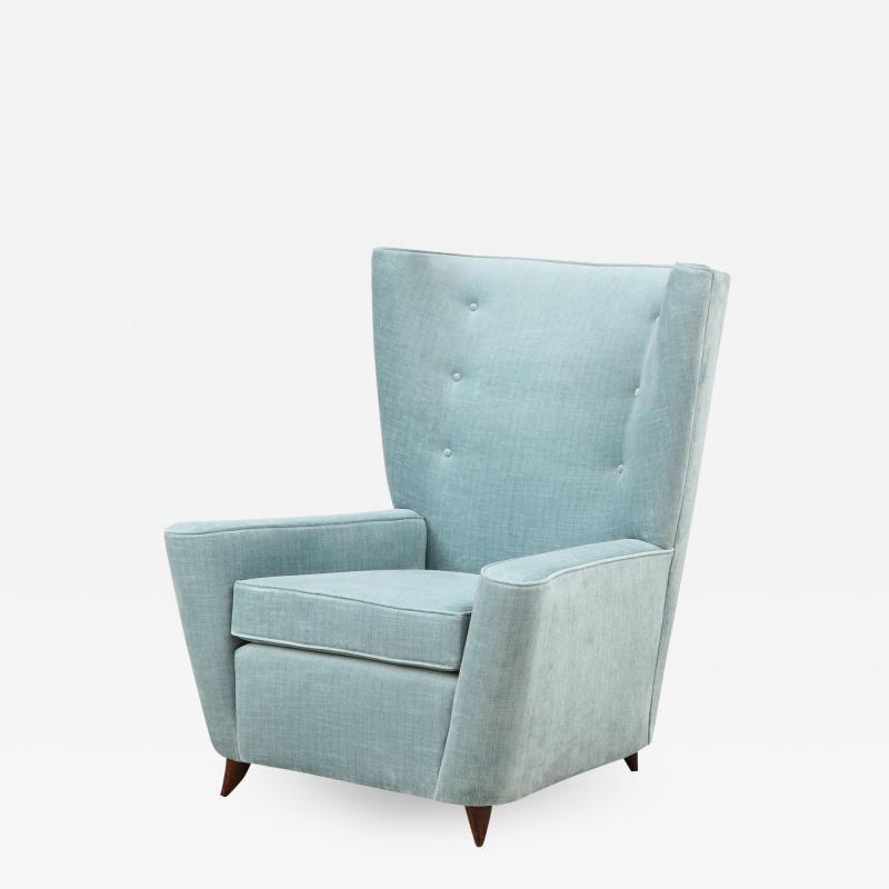 Paolo Buffa Rare Lounge Chair by Paolo Buffa