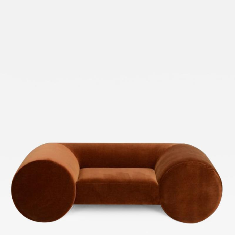 Paolo Ferrari EXTRA LOW ROLLED BACK Lounge