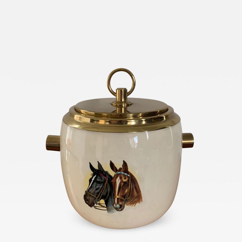 Paolo Gucci Ceramic Ice Bucket