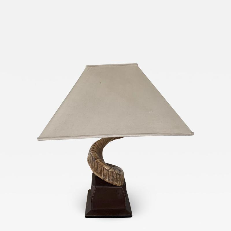 Paolo Gucci Horn table lamp base