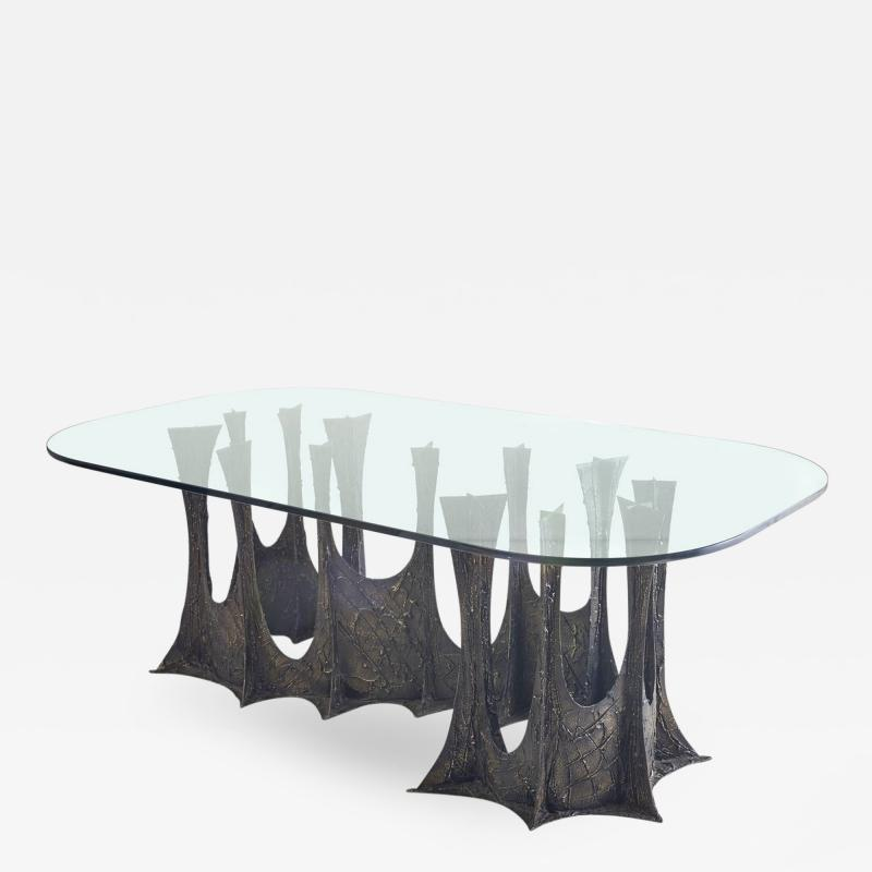 Paul Evans Paul Evans 1969 Stalagmite Signed Dining Table