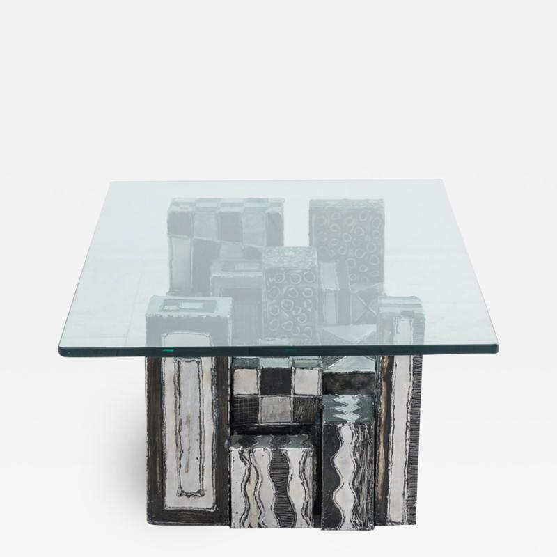 Paul Evans Paul Evans Argente Skyline Low Table USA