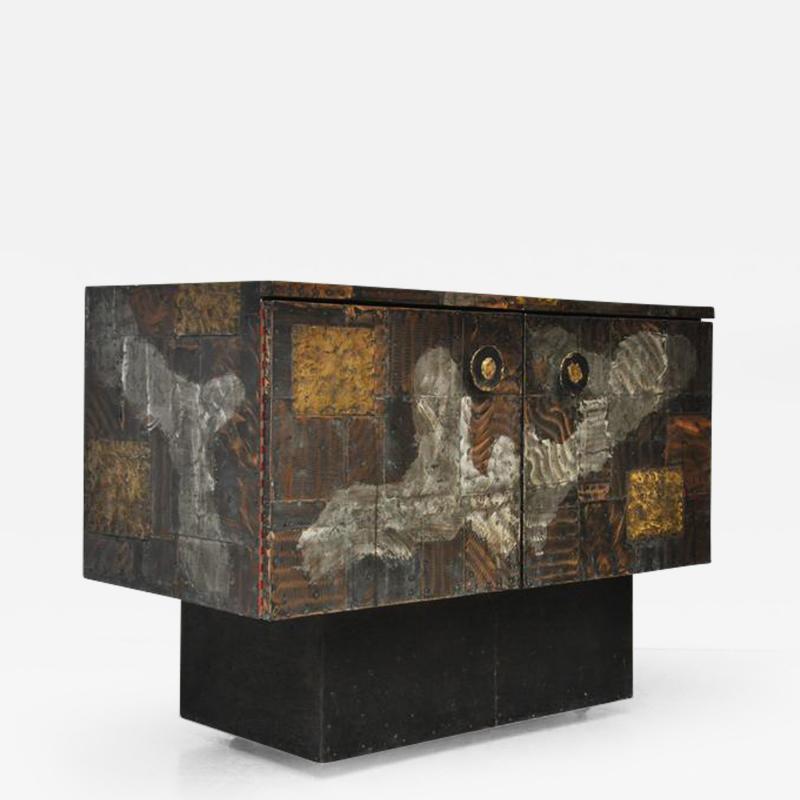 Paul Evans Paul Evans Mixed Metal Sideboard Cabinet