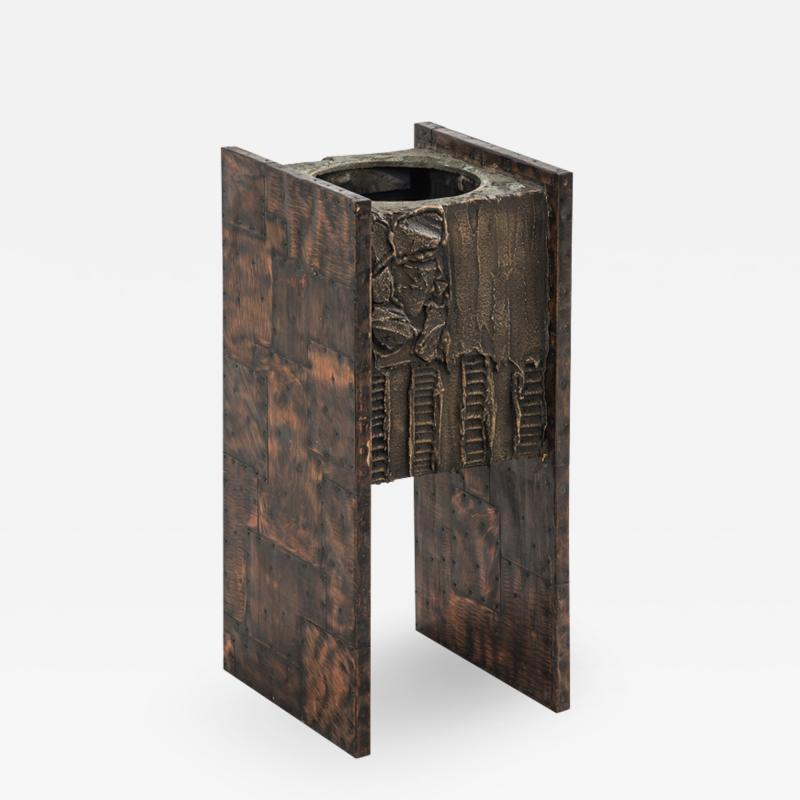 Paul Evans Paul Evans Sculpted Bronze Planter USA