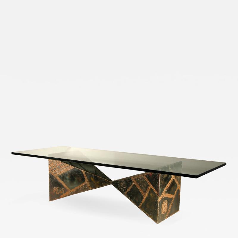Paul Evans Paul Evans Welded Coffee Table 1967