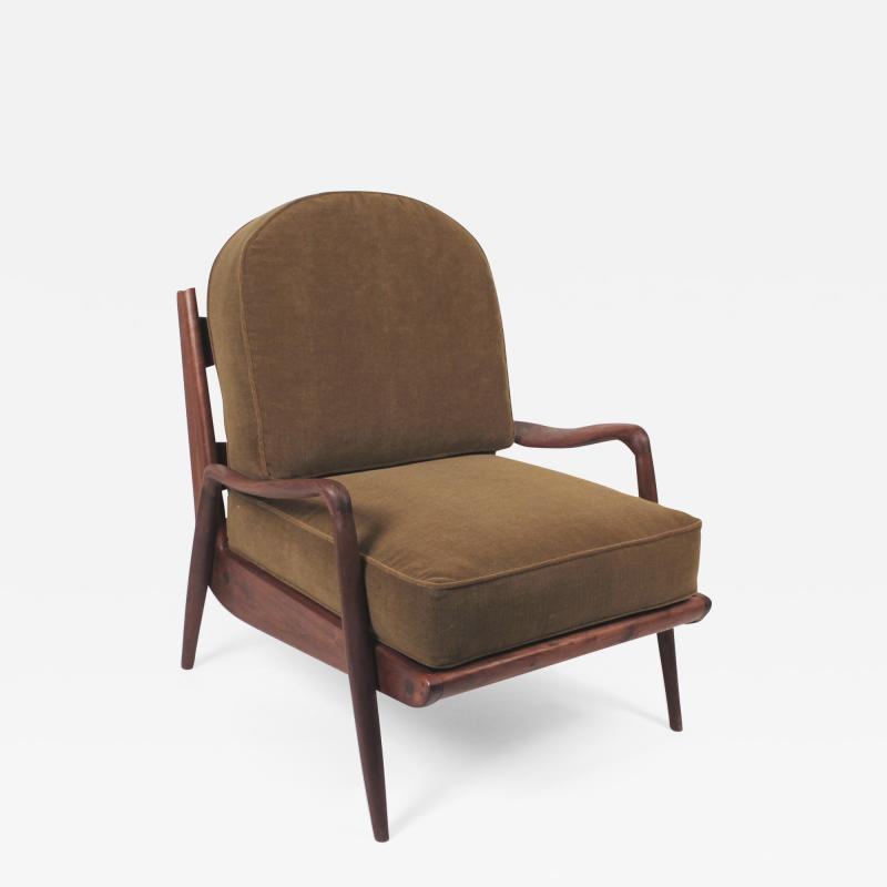 Paul Evans Phillip Lloyd Powell New Hope Lounge Chair from Phillip Lloyd Powell Studio in American Black Walnut