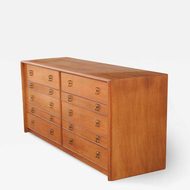 Paul Frankl 1950s paul Frankl 10 Drawer Dresser