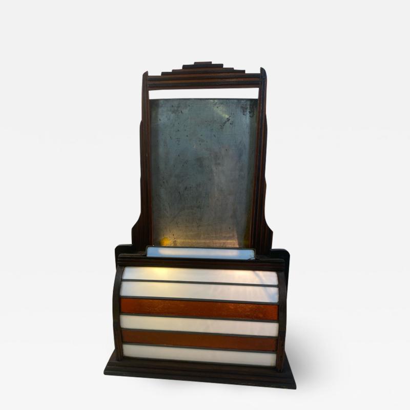 Paul Frankl ART DECO SKYSCRAPER DESIGN ILLUMINATED SIGN