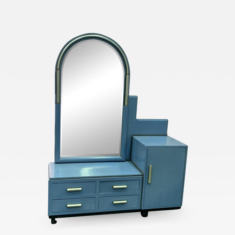 Paul Frankl EXCEPTIONAL MODERNIST ART DECO VANITY