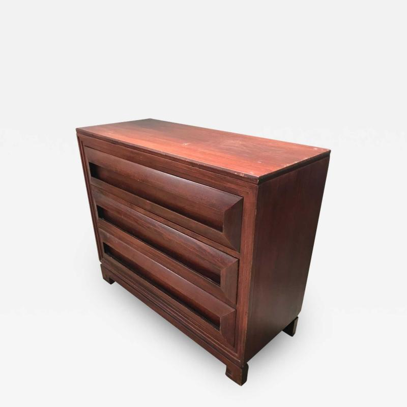 Paul Frankl Paul Frankl Petite Mahogany Chest of Drawers for Johnson Furniture Co