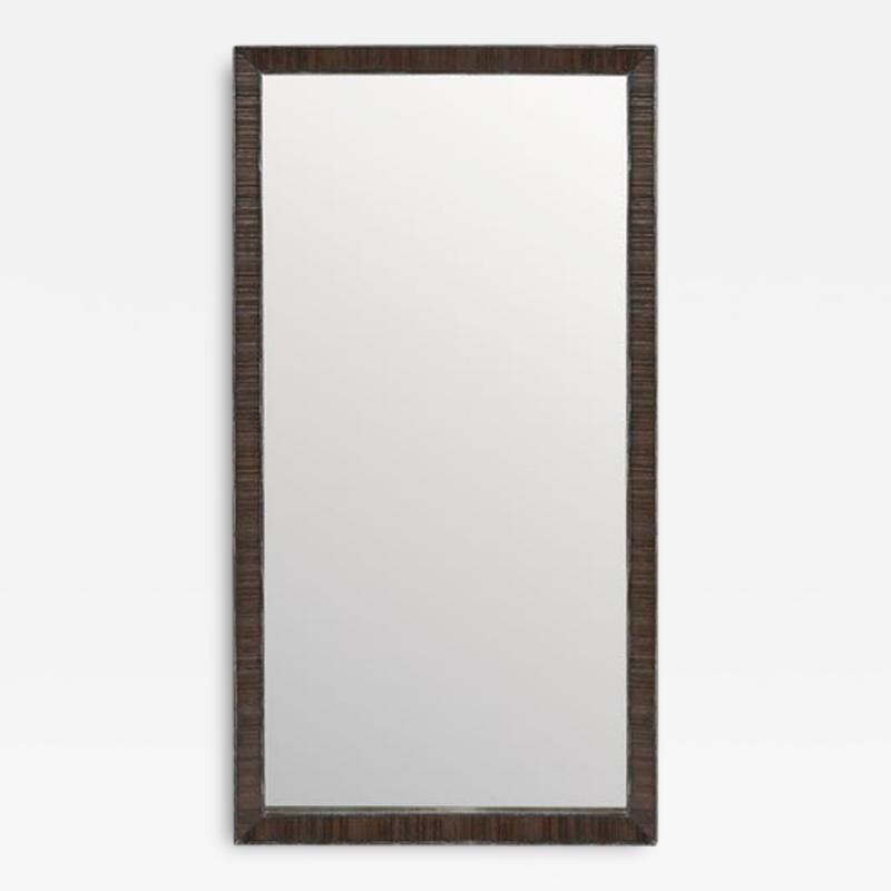 Paul Frankl Paul Frankl Rustic Mirror in Limed Oak C 1950s