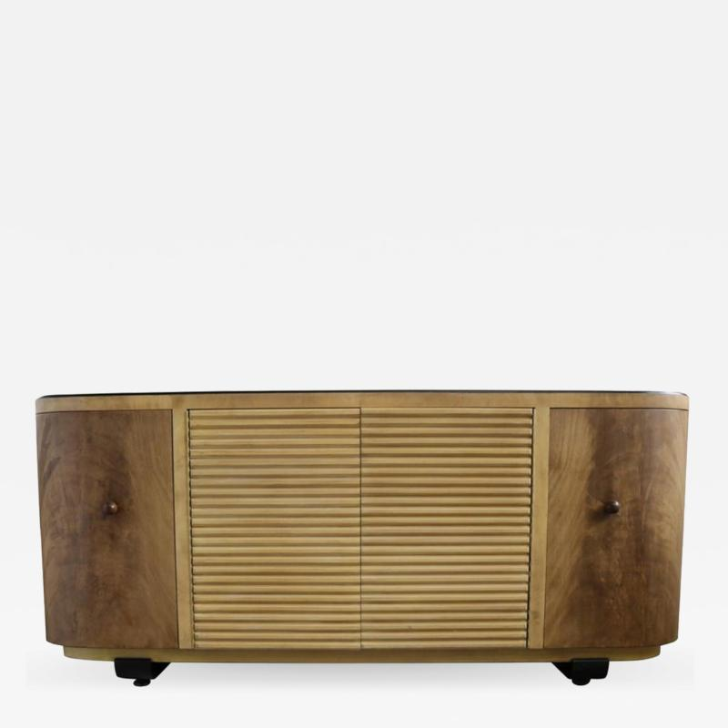 Paul Frankl Two Toned Credenza by Paul Frankl