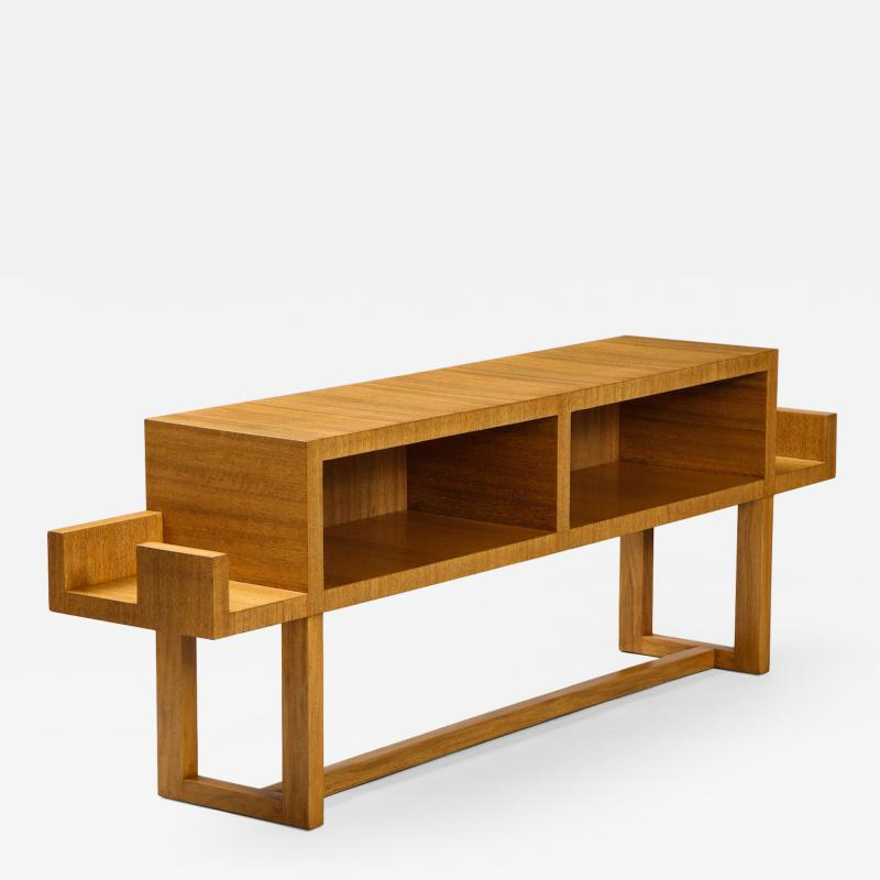 Paul L szl Custom Designed Console Table by Paul Laszlo