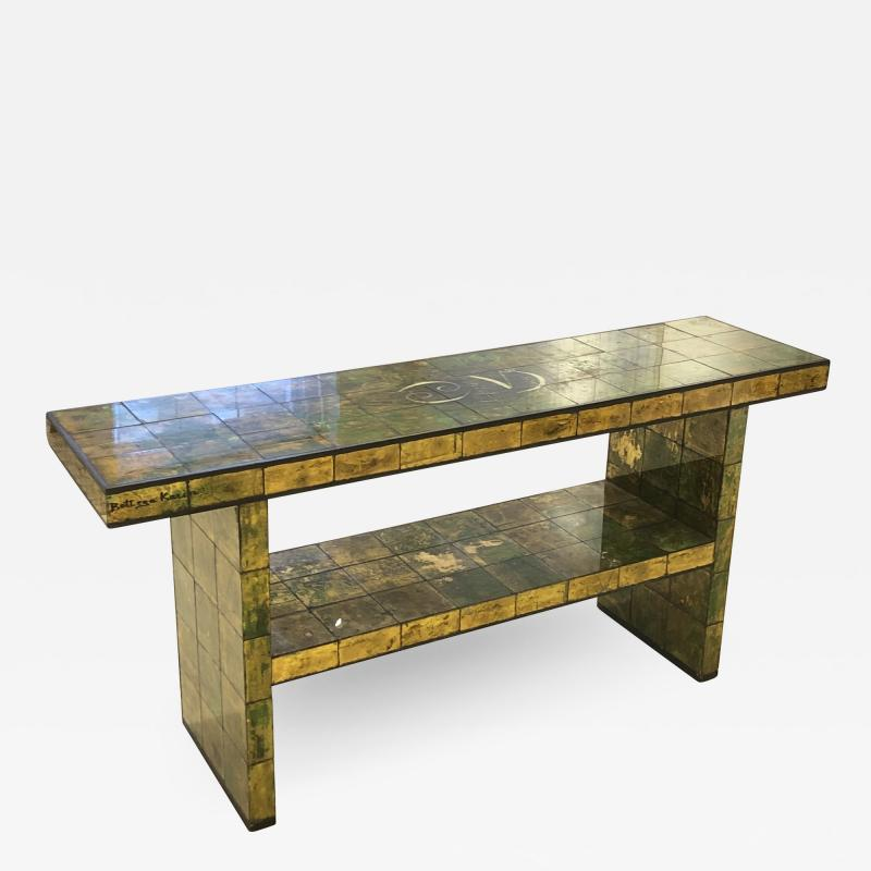 Paul L szl Custom Paul Laszlo Verre glomis Console Table