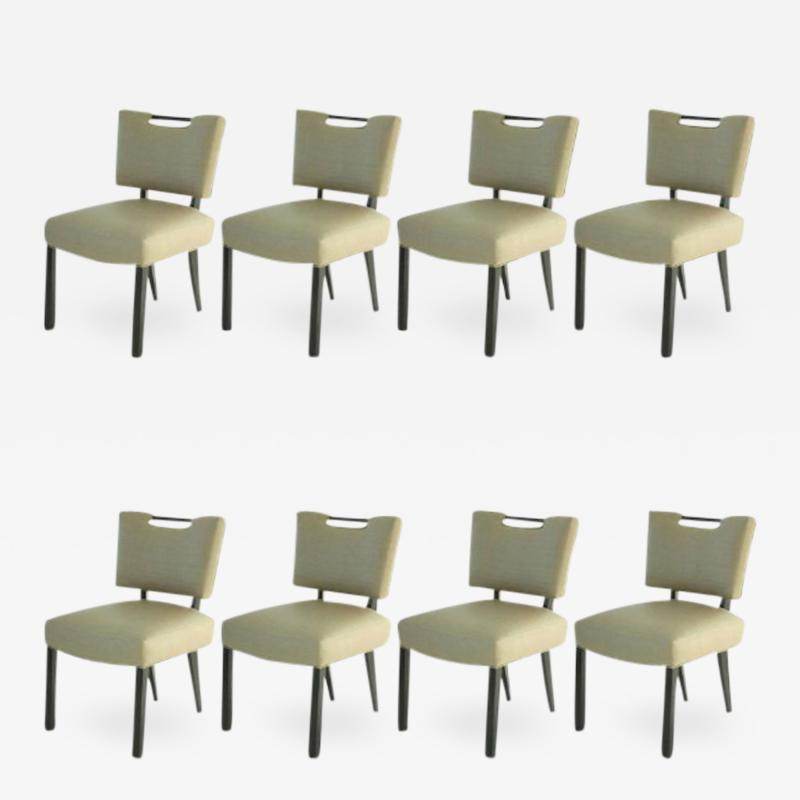 Paul L szl Modern Paul Laszlo Dining Chairs Set of 8